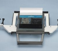 Universal Carrier: For 16mm, 35mm Roll Film in open reels and Microfiche – Manual Operation